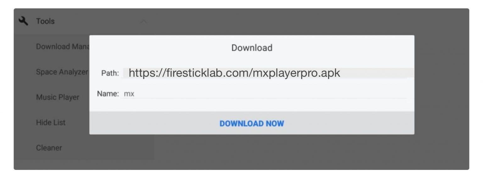 Now type MX in the name box and Download Now