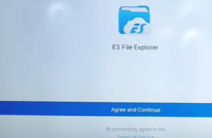 Search results will help you locate the ES File Explorer application