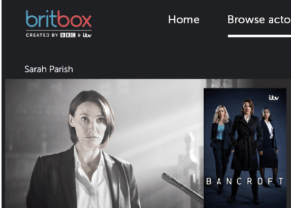 There, on the right side, you will see Britbox Channel