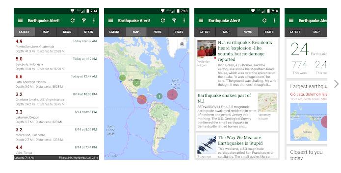 Earthquake Alert App For PC