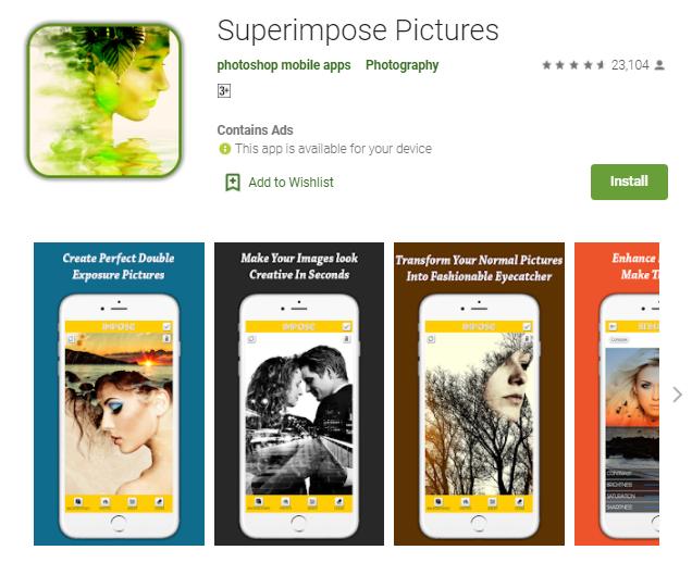 Superimpose App for Mac