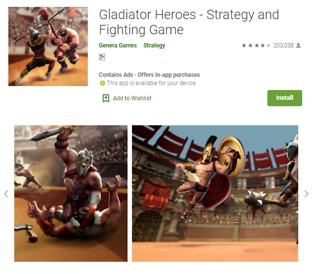 Gladiator Games For Mac
