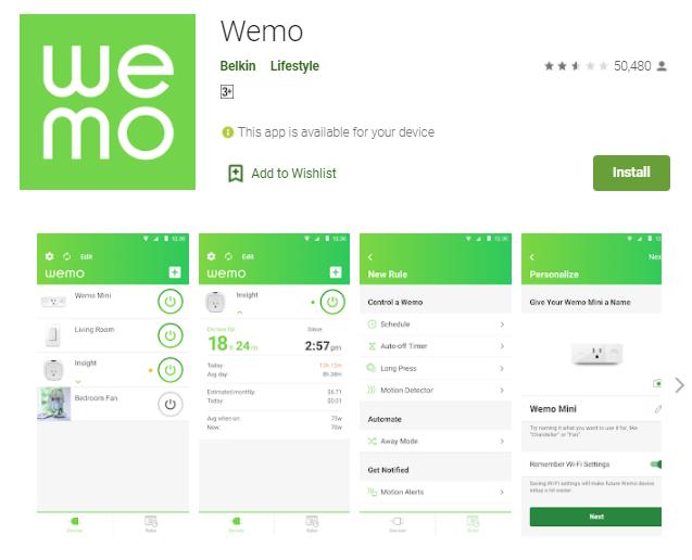 WeMo App For Mac