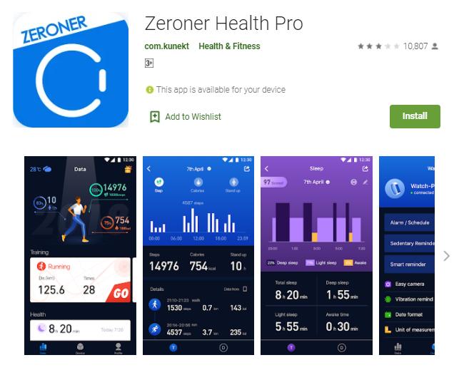 Zeroner App For Mac
